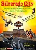 Zlot motorów Harley-Davidson w Bożejowiczkach