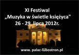 Koncerty w pałacu w Lubostroniu