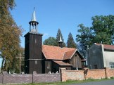 Drewniany kościół w Żołędowie
