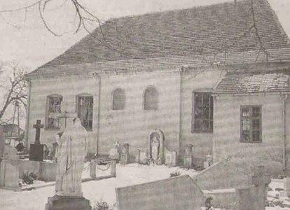 Kościół murowany z 1792 roku