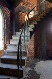 Schody prowadzące z piętra II na piętro III